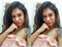 Today Exclusive- Sexy Lankan Girl Showing Nude Body