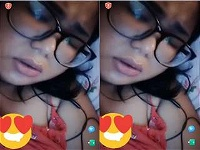 Today Exclusive- Cute Indo Girl Showing Her Boobs on video Call Part 4