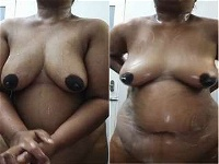 Today Exclusive- Desi Girl Showing her Boobs and Pussy