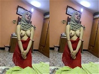 Today Exclusive- Sexy Arab Wife Showing Her Boobs and Pussy