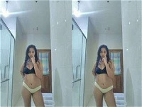 Today Exclusive- Cute Lankan Girl Showing Her Nude Body And OutDoor Bathing Part 8