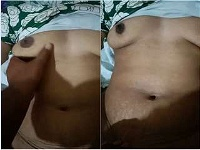 Today Exclusive-Desi Bhabhi Boobs pressing and Fucking