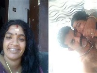 Today Exclusive- Horny Mallu Couple Romance and Blwjob part 1